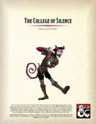 College of Silence