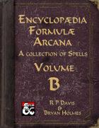 Encyclopaedia Formulae Arcana - B