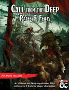 Call from the Deep: Races & Feats