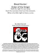 Blood Hunter: Order of the Strigoi