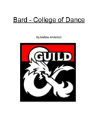 Bard - College of Dance