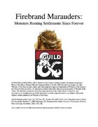 Firebrand Marauder Monsters