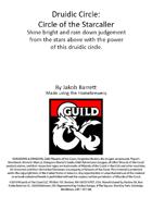 Druidic Circle: Circle of the Starcaller