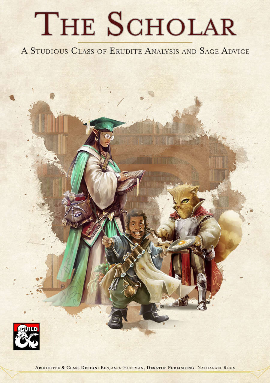 The Scholar Class - Dungeon Masters Guild   Dungeon Masters