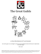 TGA-GMG-02 The Great Guilds