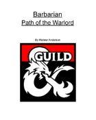 Barbarian - Path of the Warlord