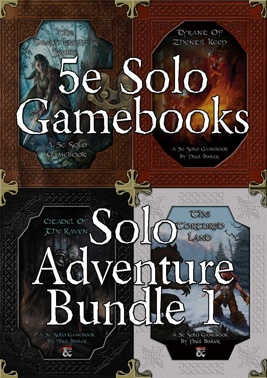 Solo Adventure Bundle 1