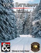 VeX's Battlemap Pack#03:  Snowy Roadside Maps