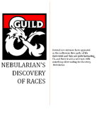 Nebularian's Discovery of Races