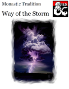Monastic Tradition - Way of the Storm