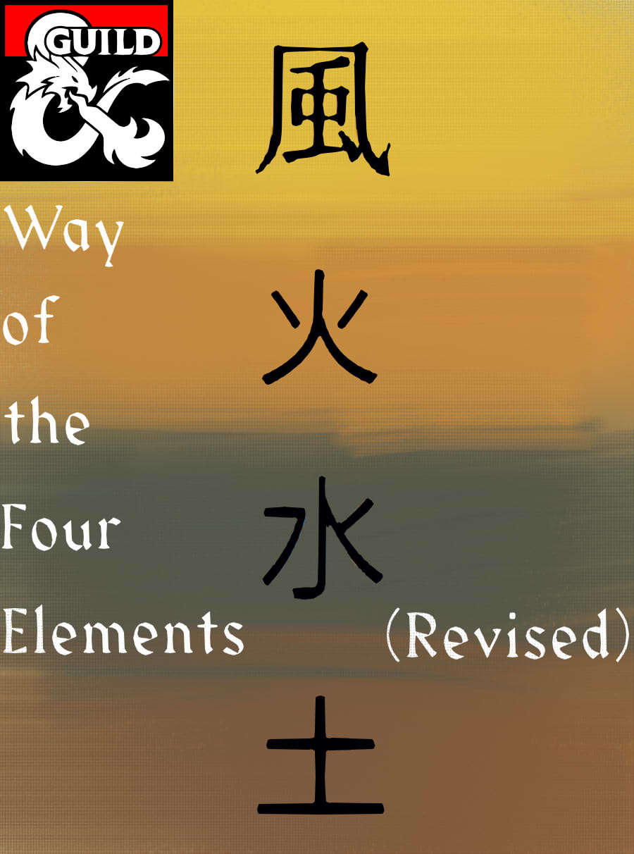 Way of the Four Elements (Revised D&D 5e Monk Subclass
