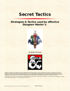 Secret Tactics for Dungeon Master's