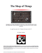 Shop of Things