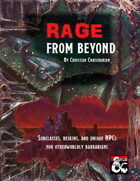 Rage from Beyond - two barbarian subclasses