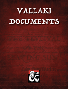 Vallaki Documents: Ephemera for Curse of Strahd