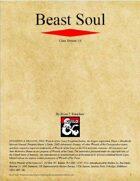 Beast Soul Class (D&D 5e)