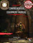The Comprehensive Equipment Manual [Revised] (Fantasy Grounds)