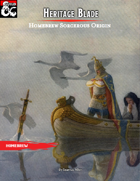 Heritage Blade (Martial Sorcerous Origin)