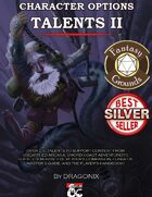 Character Options: Talents II 5E (Fantasy Grounds)