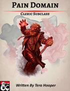 Pain Domain: Cleric Subclass