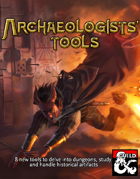 Archaeologists' Tools