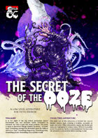 Adventure High: Secret of the Ooze - 1st Tier Adventure (5e)
