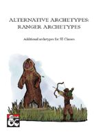 Alternative Archetypes: Ranger Archetypes