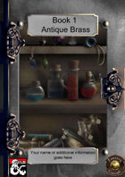 Book 1 - Antique Brass Collection