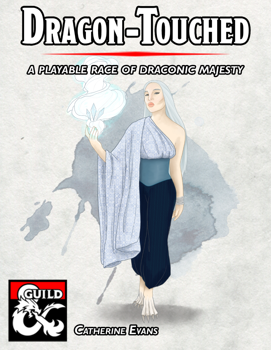The Dragon-Touched: A Playable Race - Dungeon Masters Guild