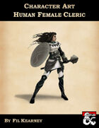 Character Art Human Female Cleric