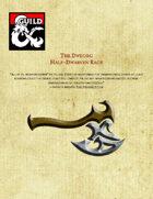 Dweorg - The Half-Dwarves