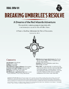 DDAL-DRW01 Breaking Umberlee's Resolve