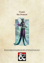 5th Edition Cleric Subclass: Sea Domain