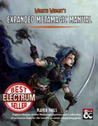 Expanded Metamagic Reference Manual