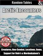 Table Rolls - Arctic Encounters