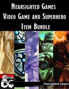 Nearsighted Games: Video Game and Superhero Bundle