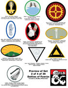 art 007 - Symbols for Deities of Faerun : 10 deity icons