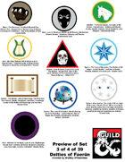 art 008 - Symbols for Deities of Faerun : 10 deity icons