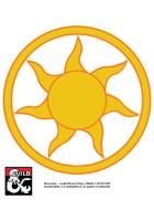 art 010 - Icon for Amaunator : Deity of Faerun