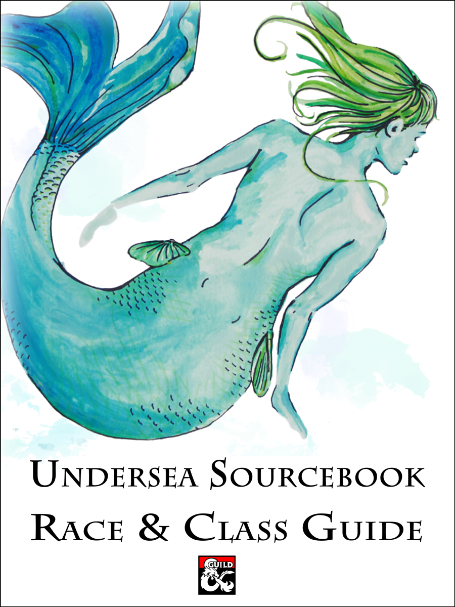 Underwater Sourcebook: Race and Class Guide