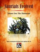 Saurials Evolved: V.1 The Hornheads