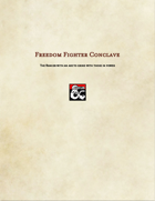 Ranger Subclass-Freedom Fighter