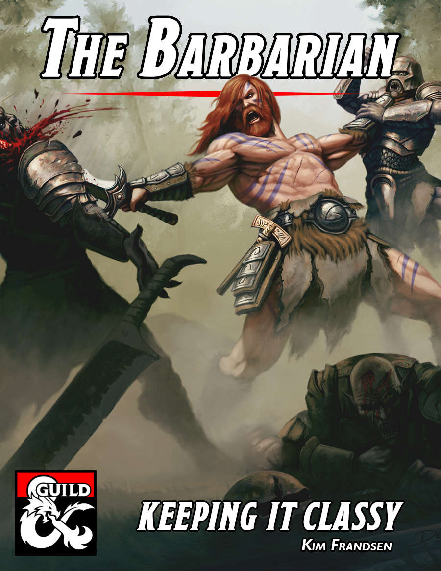 Keeping It Classy: The Barbarian - Dungeon Masters Guild | DriveThruRPG com