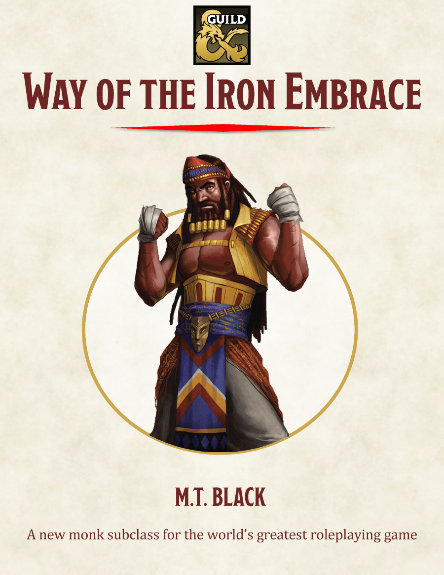 Way of the Iron Embrace cover