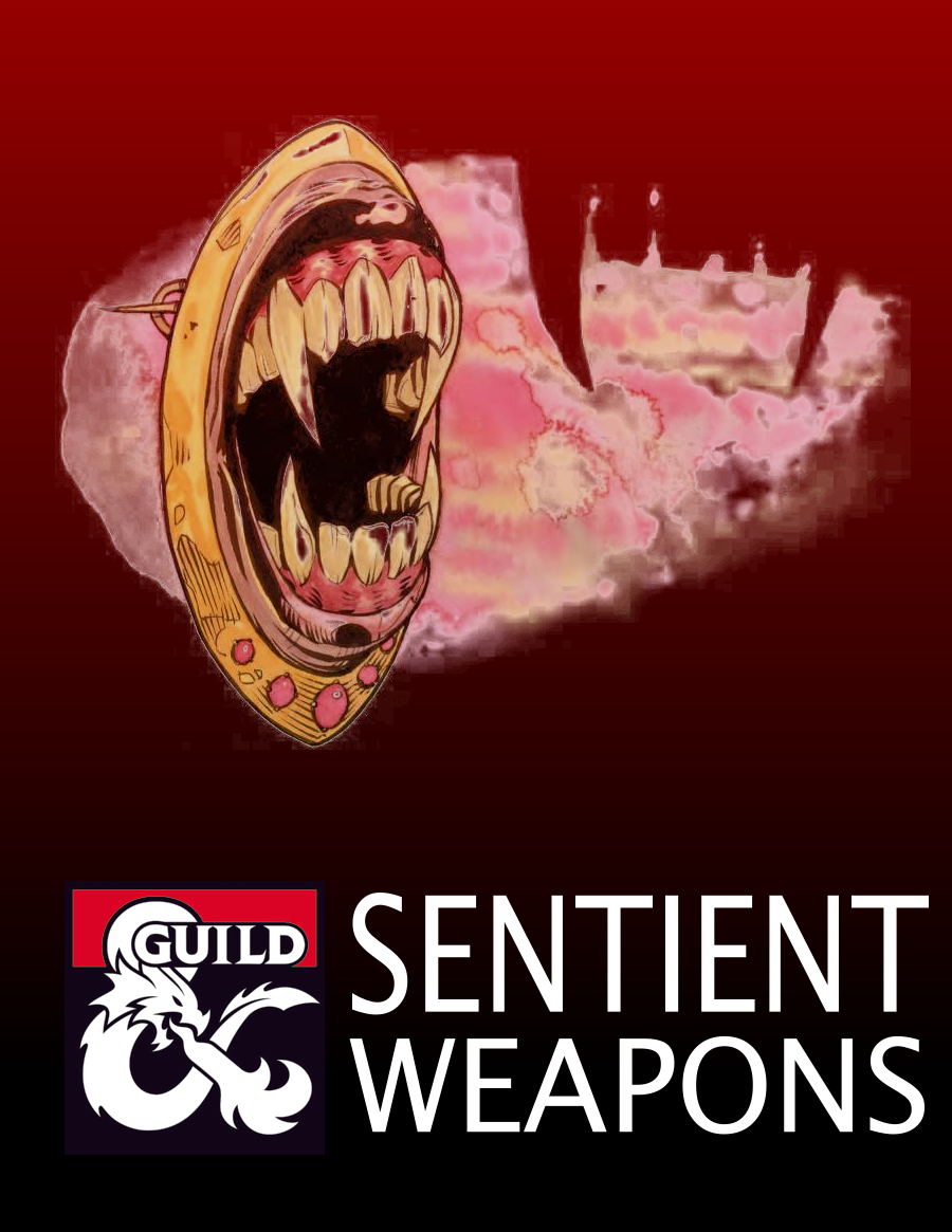 Sentient Weapons (5e) - Dungeon Masters Guild | Dungeon