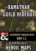 Waterdeep Dragon Heist: Xanathar Guild Hideout Map 1.2