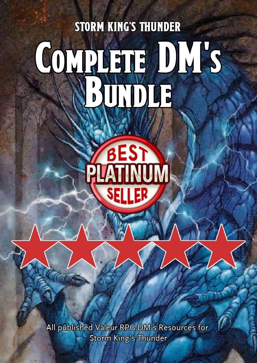 Storm King's Thunder: Complete DM's Bundle