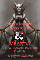 Jasper's Journal: Vrazda, New Playable Race