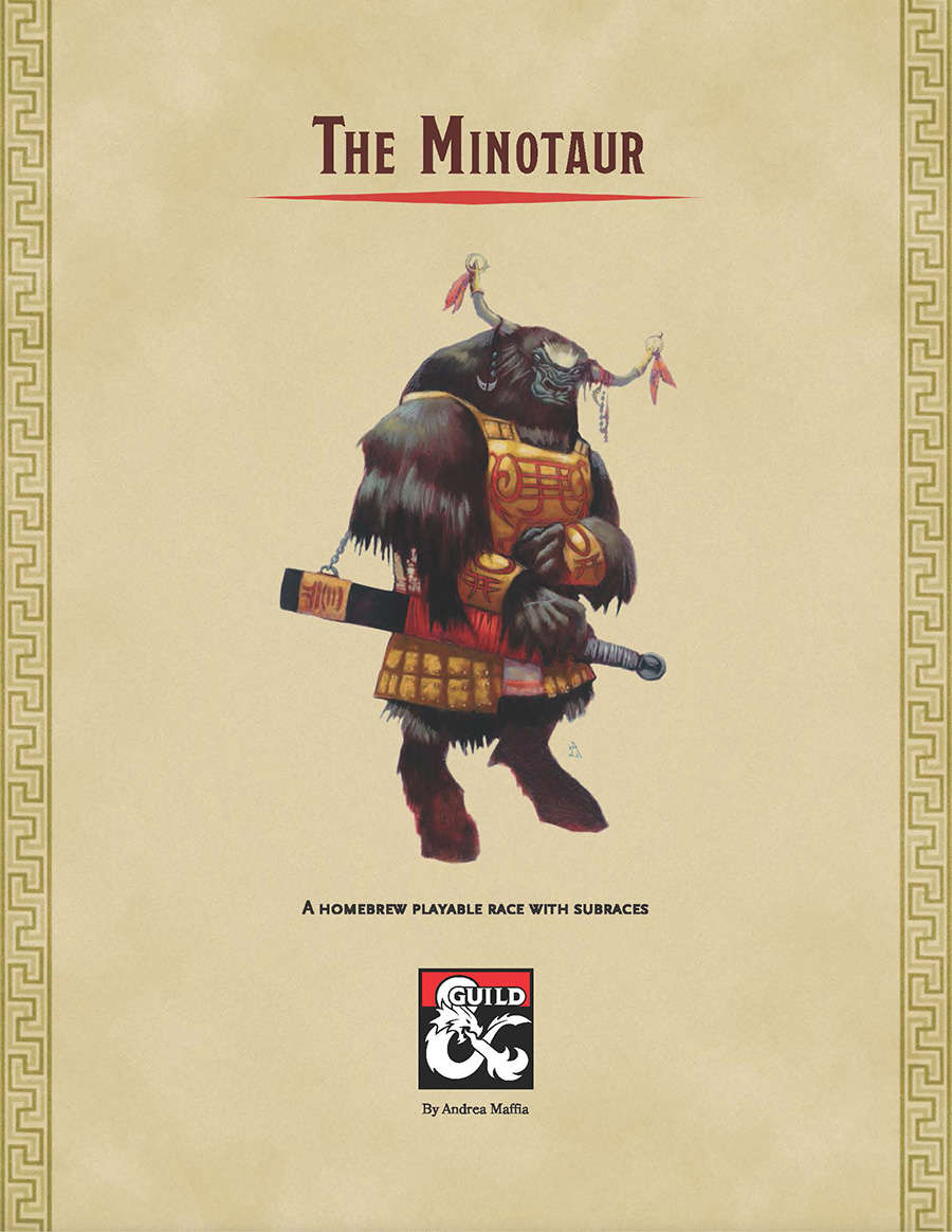 The Minotaur - Dungeon Masters Guild | Dungeon Masters Guild