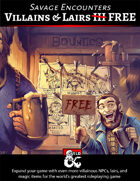 Villains & Lairs III FREE